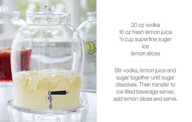 Lemon drop drink, Lemon drops and Crate and barrel on Pinterest