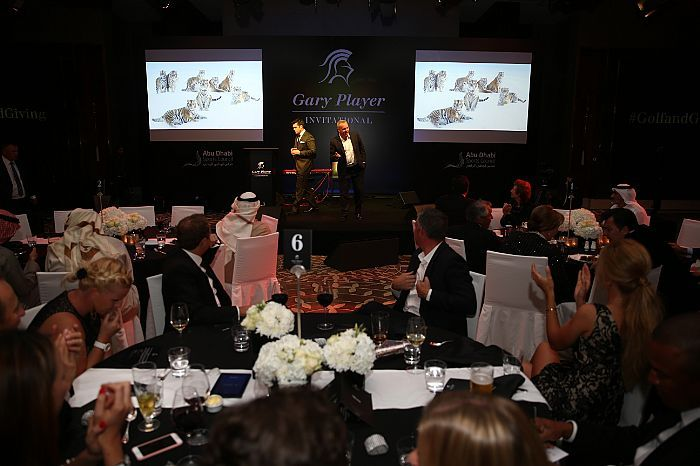 Charity auction at the 2016 GPI Abu Dhabi.