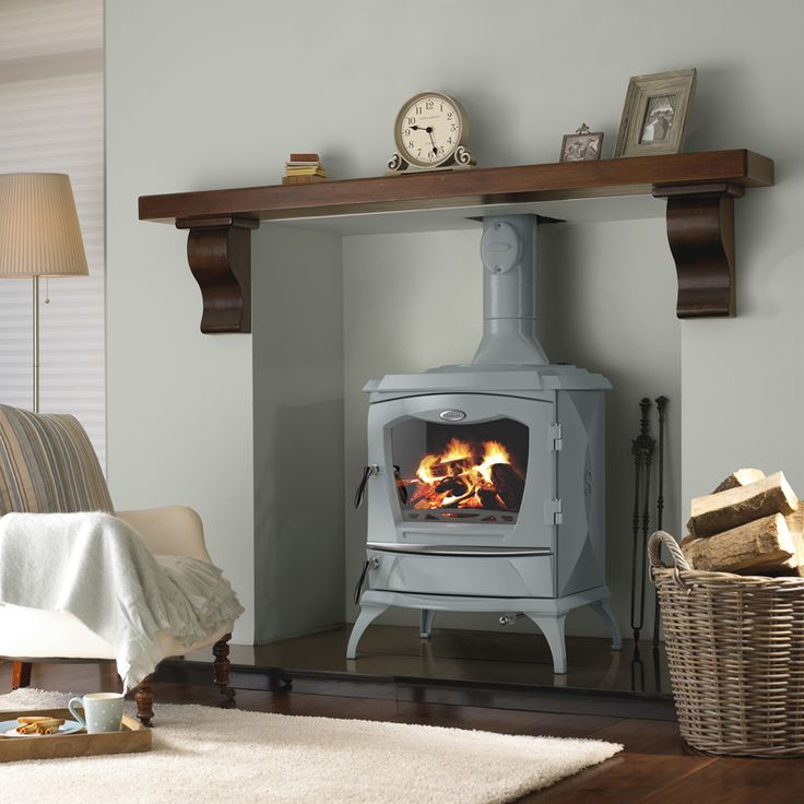 The Lismore stove is now available in our new colour French Grey. Our paint background is Pavillion Grey.