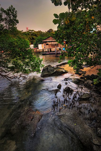 Singapore - Pulau Ubin, where time stood still