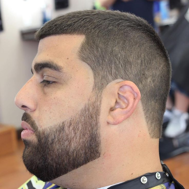 Pin On Buzzcut With Beards