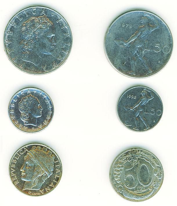 <p>Occhio anche alle monete. Le 100 lire coniate nell'anno 1995 sono particolarmente rare: ne furono coniate solo 8,6 milioni e possono valere fino a 1.200 euro. </p>