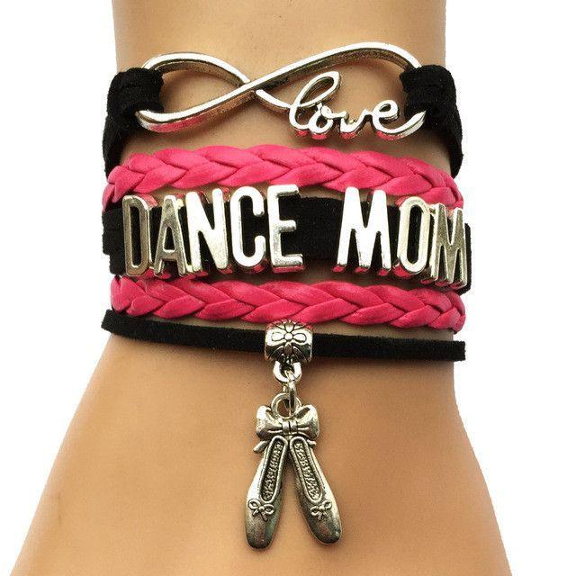 Dance Mom Charm Bracelet