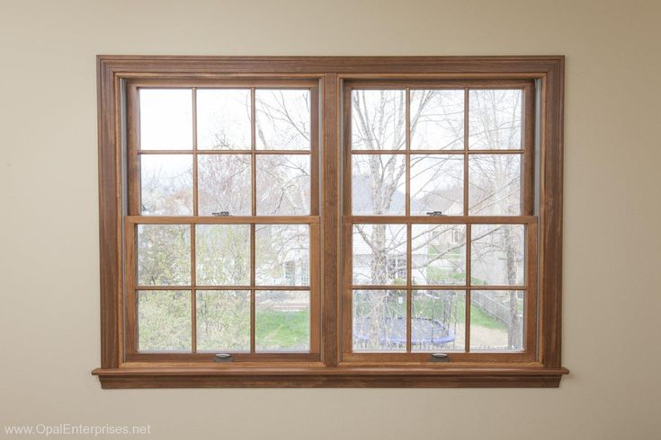 Andersen Tilt Wash Windows custom stained by Opal Enterprises