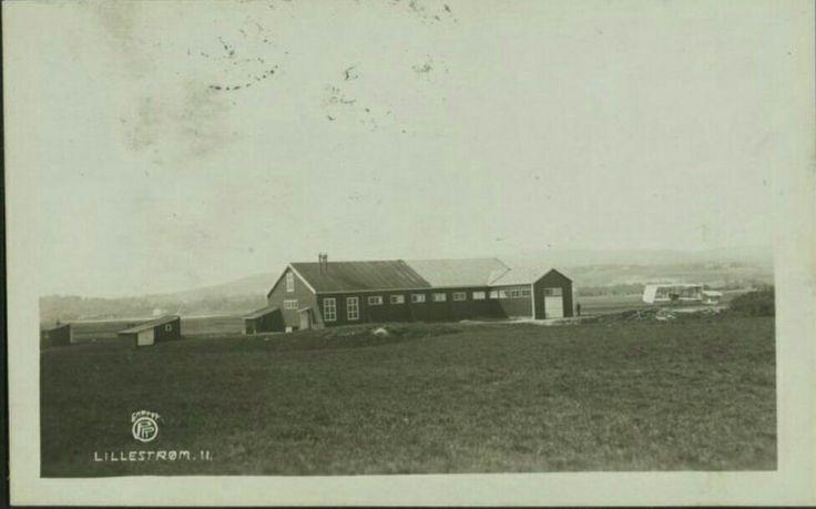 Kjeller flyplass 1911 Oppi