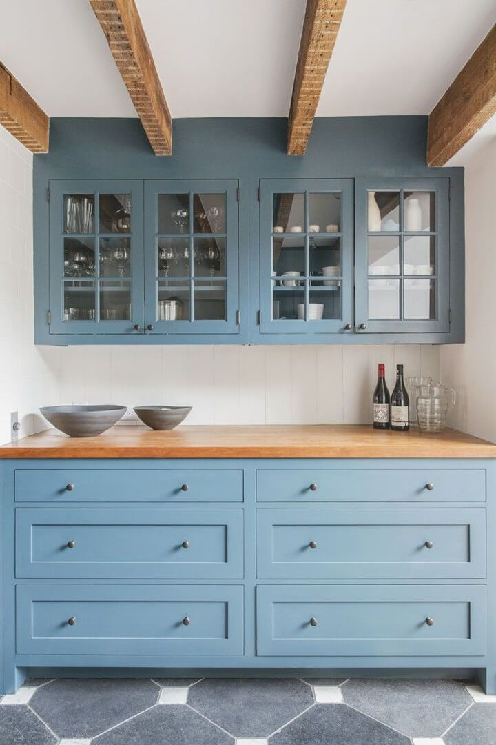 Best 25+ Blue Kitchen Countertops Ideas On Pinterest | Blue Kitchen  Interior, Blue Kitchen Designs And Painted Island Part 97