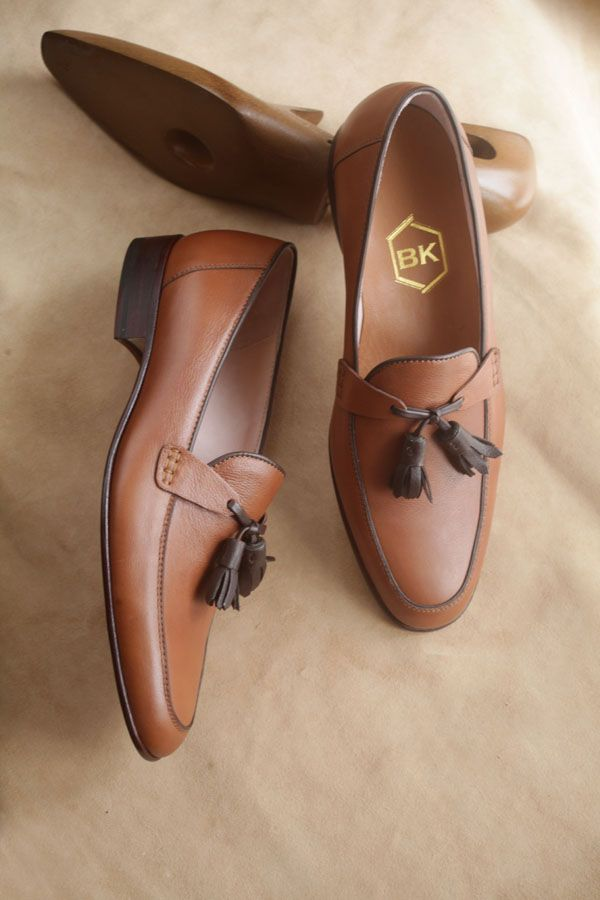 loafers in brown by BEN KOO