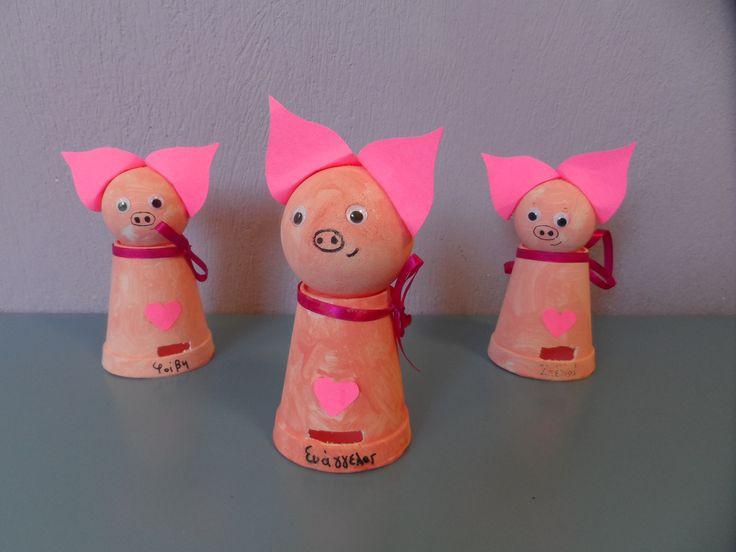 Παγκόσμια Ημέρα Αποταμίευσης # pig kids craft