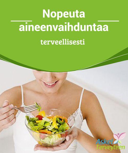 Nopeuta #aineenvaihduntaa terveellisesti  On hyvin tärkeää syödä 5 ateriaa #päivässä sekä pitää kiinni liikuntarutiineista. Yksi tunti päivässä riittää useimpien kohdalla takaamaan tarpeellisen liikuntamäärän. #laihduttaminen