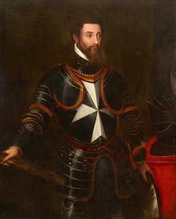 Leone Strozzi, c.1553  by Jacopino del Conte,