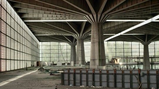 Pier Luigi Nervi.  His work in modern concrete has been compared to the most timeless works of the ancient Romans.