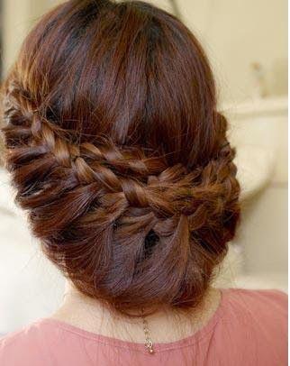 Belle coiffure soirée tendance 2015 | Coiffure simple et facile