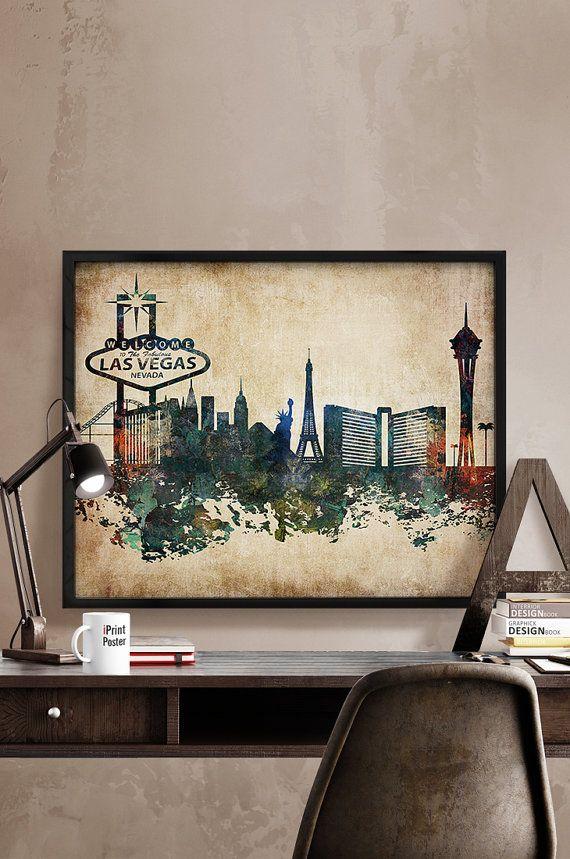 The 25 best vegas skyline ideas on pinterest las vegas for Las vegas skyline tattoo