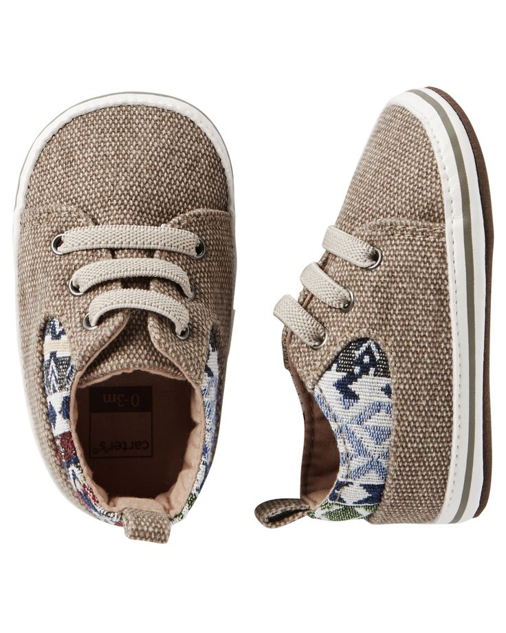 Baby Boy Carter's Sneaker Crib Shoes | Carters.com