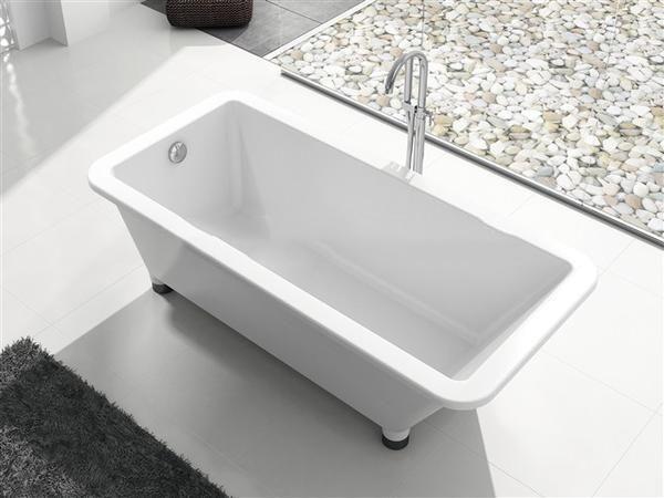 67'bathtub and Acrylic +ABS composite board Piscine Soaking Hot tub W8011