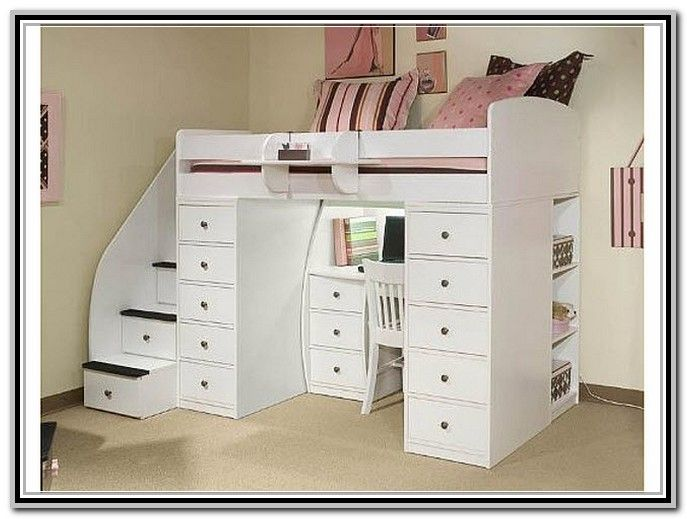 Bunk Bed With Desk Underneath Ikea Woodworking Projects