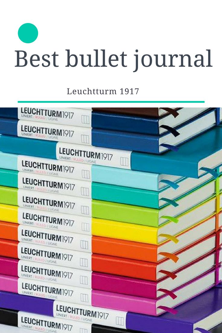 The Leuchtterm 1917 dotted journal is the go to for bullet journals for a reason. With quality binding that last and smooth pages it is a real gem. Tackle your diary, to-do list, journaling, and so much more to be productive.