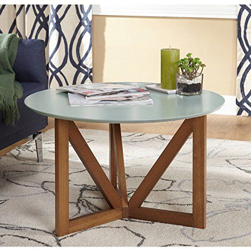Simple Living Anders Coffee Table Grey Walnut Finish Pro