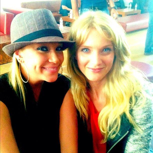 Kristen Renton And Winter Ave Zoli As Ima And Lyla At