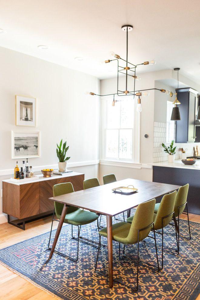 Mid Century Dining Room Design And Decor Ideas Living Room Dining Room Combo Dining Room Small Apartment Dining Room