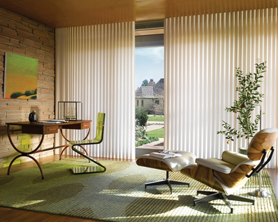 Cool Vertical Blinds Hunter Douglas Luminette Privacy Sheers Chesterfield Mo modern Vertical Blinds St Louis Two Blind Guys Unique - Modern Contemporary Window Coverings Beautiful