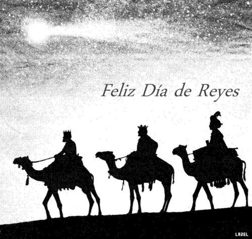 Imágenes con frases bonitas y gifs animados de Felíz Día de Reyes para compartir | Mejores imágenes