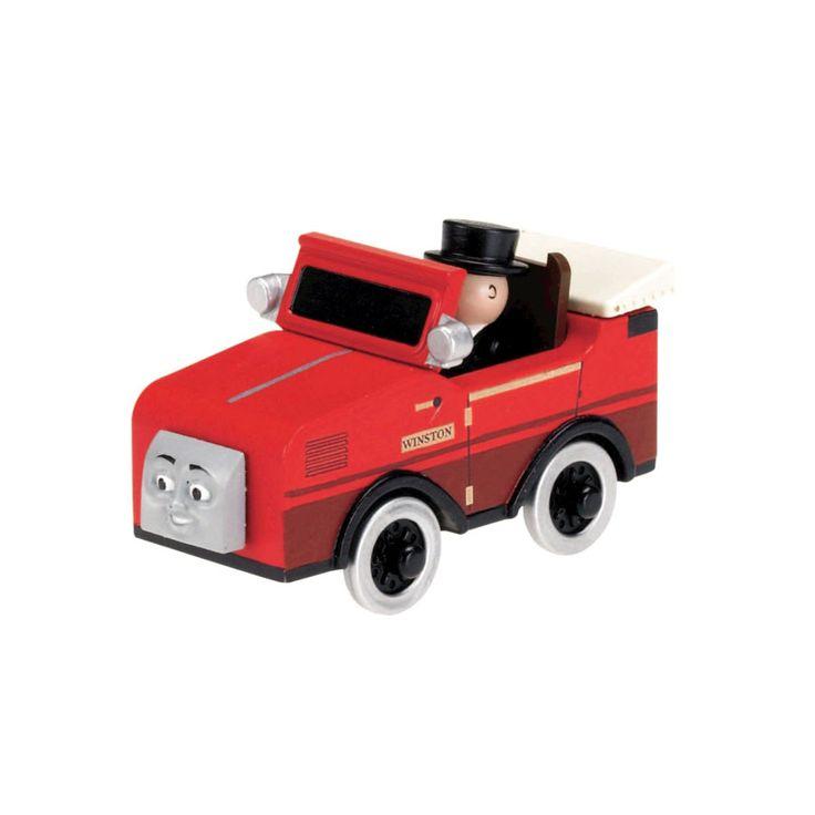 Thomas & Friends Wooden Railway Small Engine - Winston | ToysRUs BabiesRUs