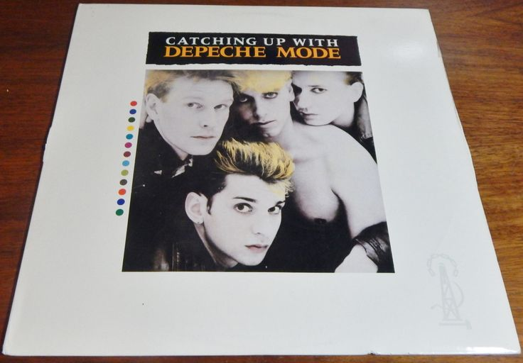 Depeche Mode Vintage Vinyl Record Album Catching Up with Depeche Mode Eighties Music by OffbeatAvenue on Etsy