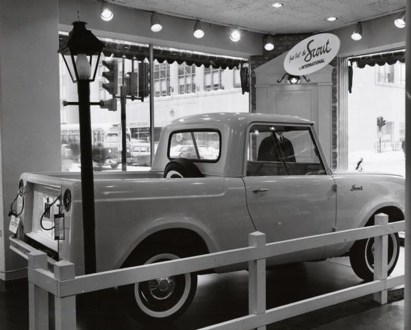 International Scout Truck | Photograph | Wisconsin Historical Society
