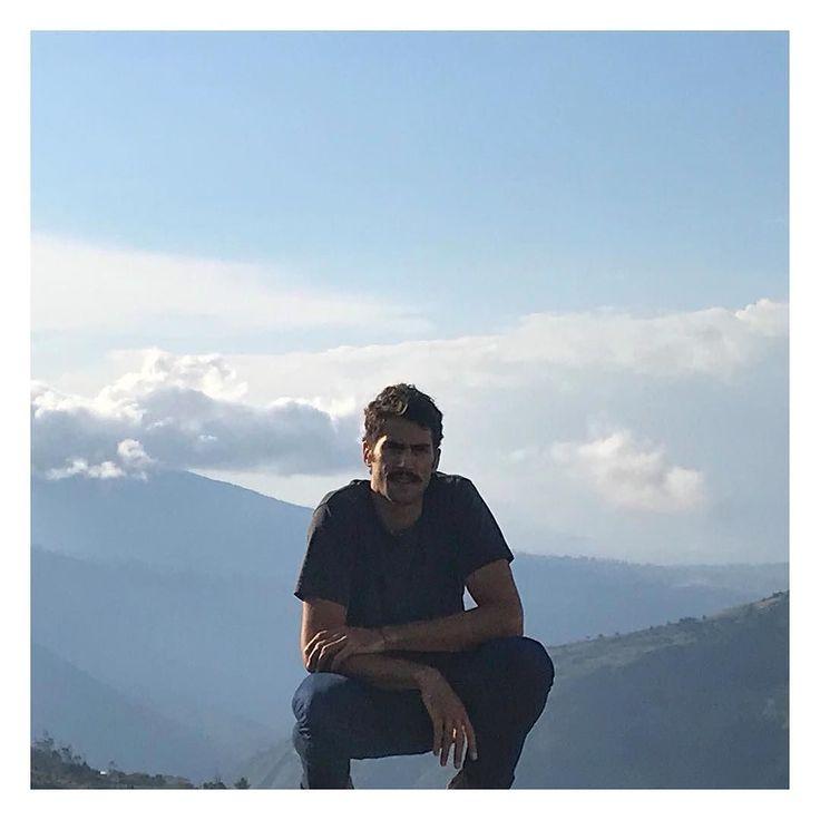 Retrato en las montañas