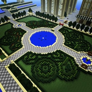 Vetra Garden Shrubbery #minecraft #epic