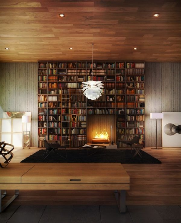自宅が蔦屋書店みたいに!憧れの図書館風インテリアコーディネート   STYLE4 Design