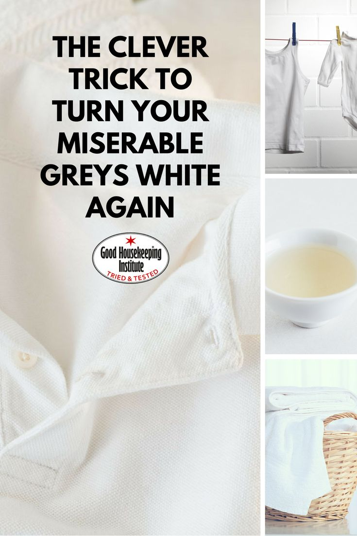 How cleaning white clothes with vinegar can get them looking as good as new