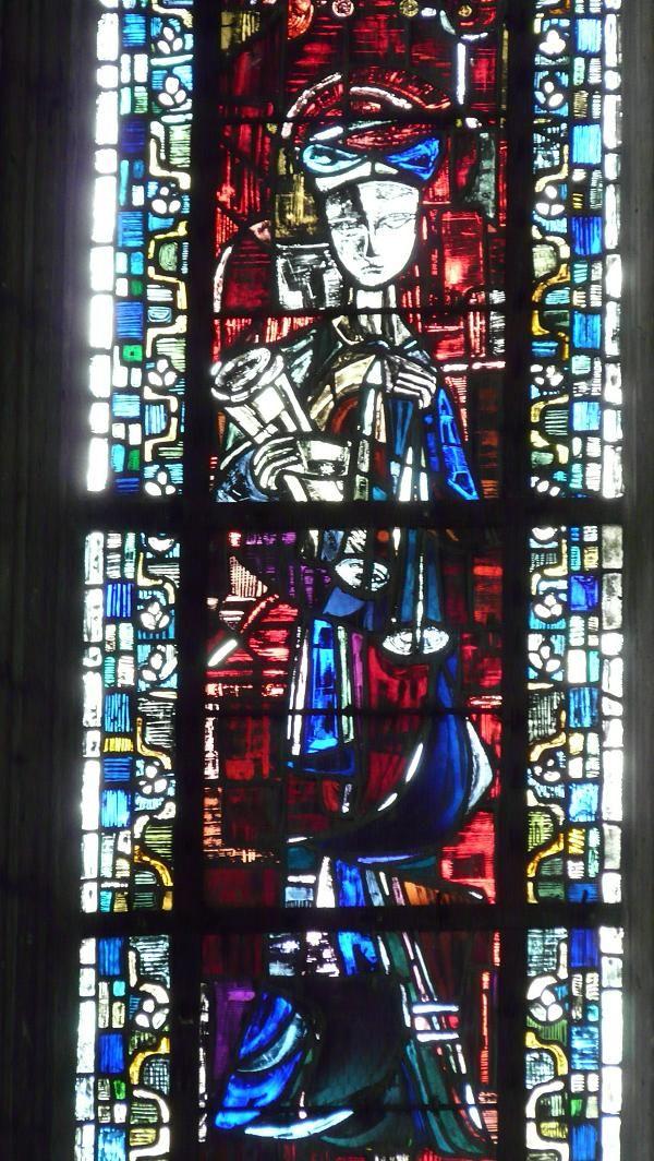 Saint Yves, Collégiale Notre-Dame, Mantes-la-Jolie (78).