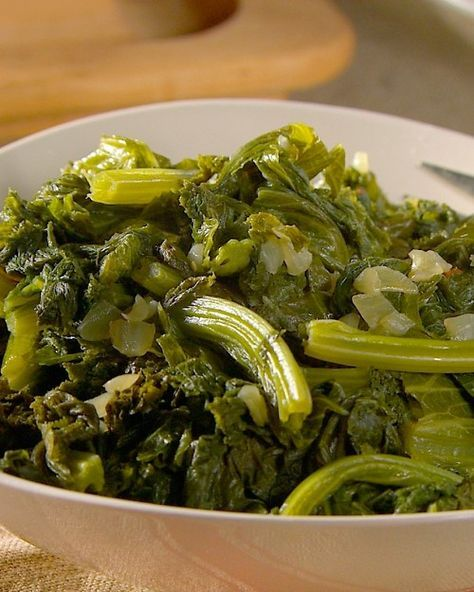 Simmered Mustard Greens - Martha Stewart Recipes