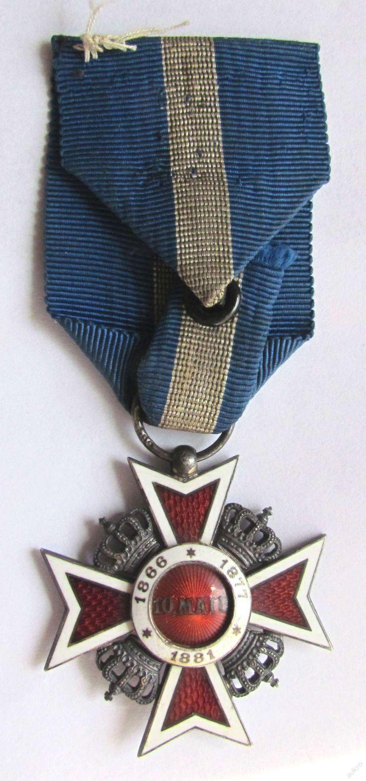 Řád rumunské koruny 5. třída (6575973676) - Aukro - největší obchodní portál