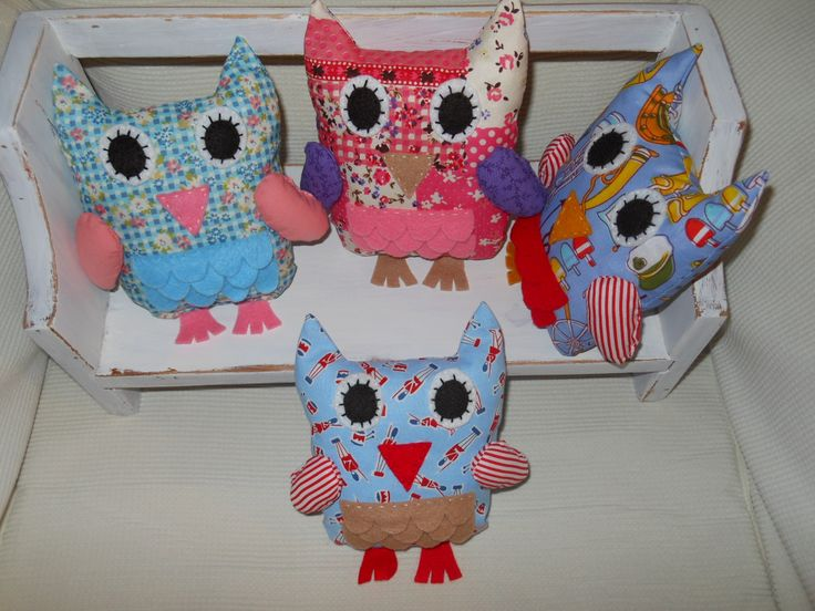 A selection of our small owls