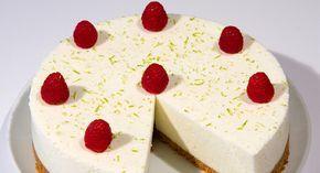 Cheesecake de limão verde