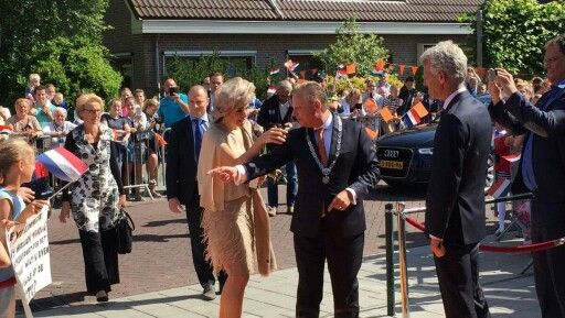 On June 09, 2016, Dutch Queen Maxima launched National campaign of the 11th Neighbour's Day (Burendag) 2016 in Urk, The Netherlands. Queen Maxima attends in her capacity as Patron of the Oranje Fonds. Burendag gives neighbours the opportunity to get to know each other and to join forces to tackle local issues, which ultimately results in a safer, more friendly neighbourhood.