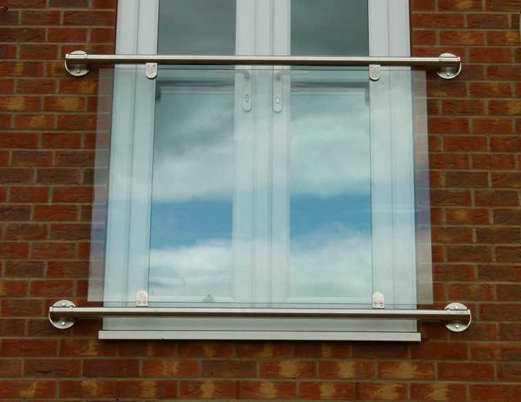 Stainless Steel Glass Juliet Balcony