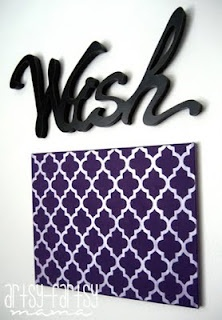 Quatrefoil Canvas