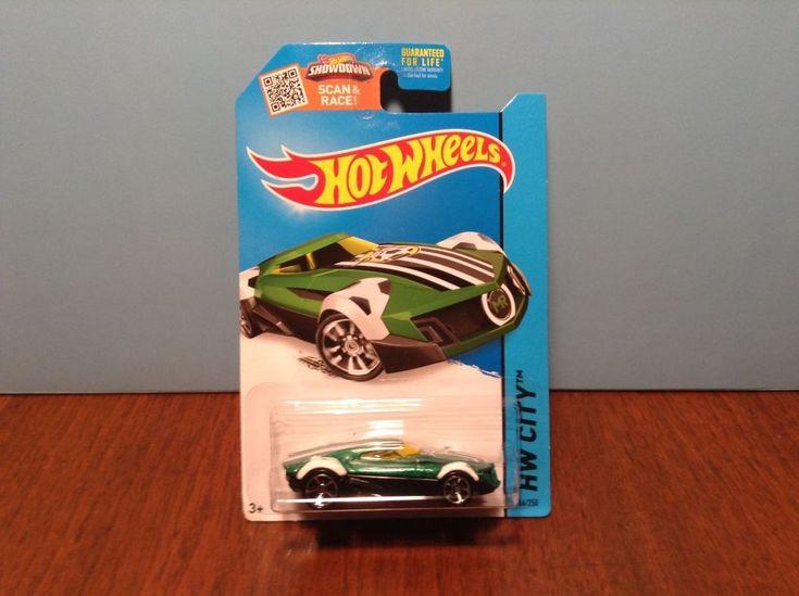 Hot Wheels MR11 #66 HW All Stars 2015 Green & Black w/ MC5s & Yellow Windows #HotWheels