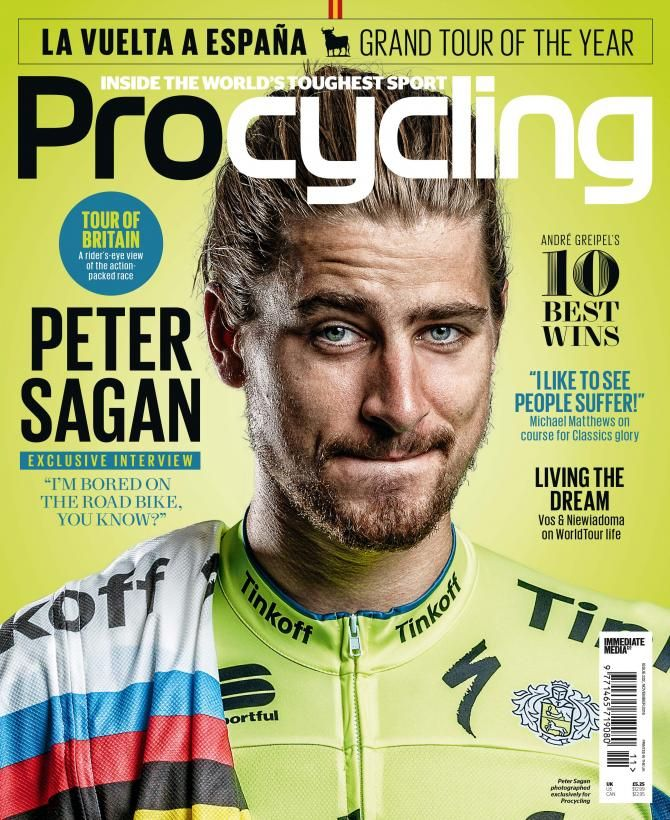 Exclusive interviews with Peter Sagan, Michael Mathews and Marianne Vos in latest Procycling