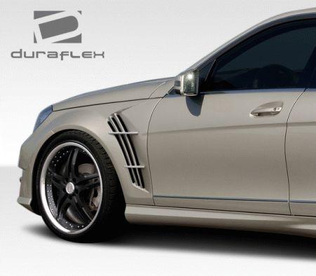 Mercedes C Class Mercedes-Benz C Class Duraflex W-1 Fenders - 2 Piece - 108248