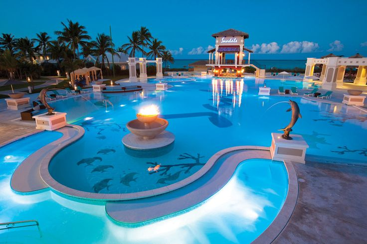 Sandals Emerald Bay, Great Exuma Bahamas