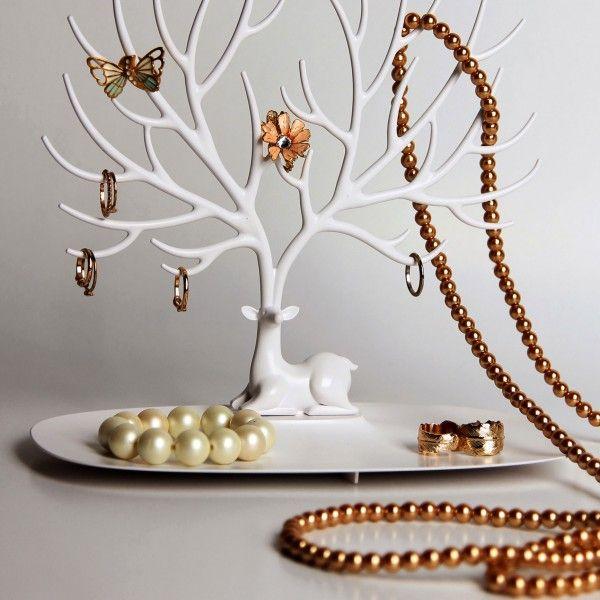 Porte bijoux original arbre arbre bijoux cerf gardera farouchement tous vos plus beaux - Arbre porte bijoux ...