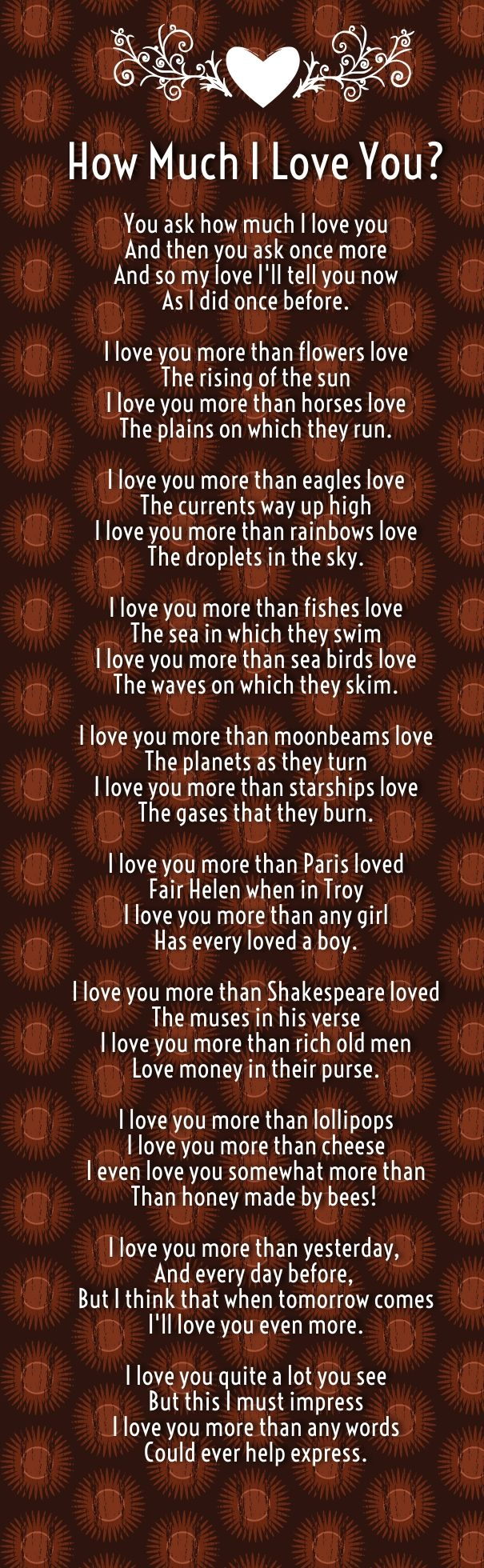 I love you so much poems for girlfriend