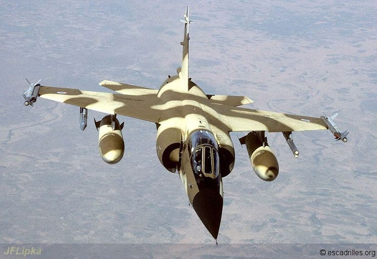 French Armée de l'Air 1995 - The multiple capabilities of the Dassault Mirage F-1CR will be used and involved after the Cold War.