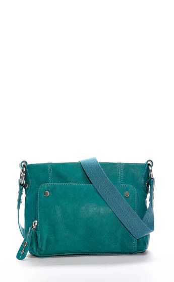 Ellington Handbag Eva Cross Body In Aquamarine