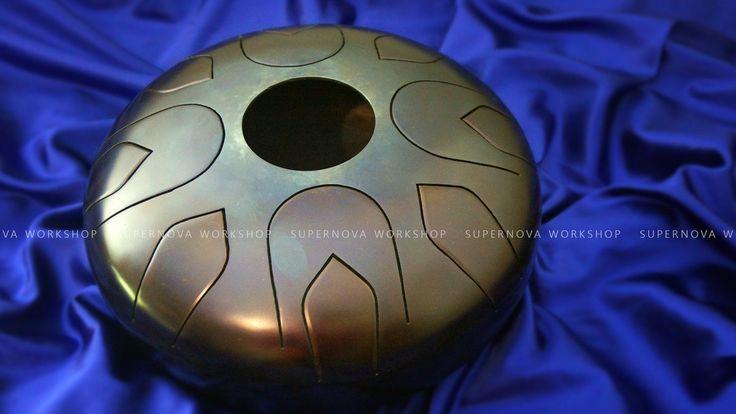 Tongue steel drum, Hung drum, Space drum, Tongue drum, Steel drum, Tank Drum by SupernovaWorkshop on Etsy